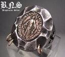 聖母の指輪 マリアメダイリング2 シルバー925
