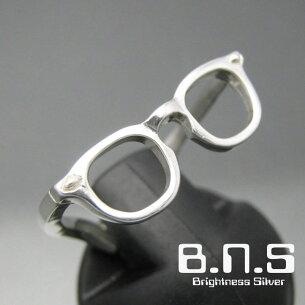 メガネシルバーリング シルバー サングラス