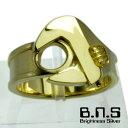 工具の指輪 ゴールドモンキーレンチリング 真ちゅう製 真鍮 ブラス brass スパナ モンキースパナ