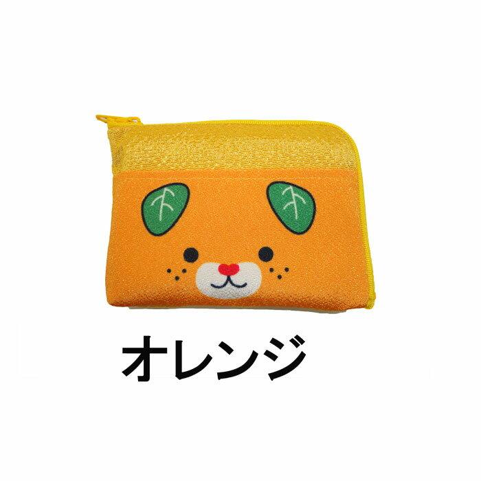白方興業(株)みきゃん L字型ポーチ≪メール便対応商品≫...:e-bussan:10001086