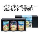 【愛媛のおみやげ】進和珈琲(株) バリィさんのコーヒー3缶セ...