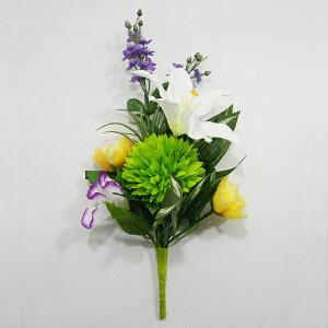《お仏壇に優しい造花》【造花 ミニ】【造花 百合】