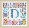 【DMC】 刺繍キット BK1208 Patch letter 【あす楽】【HLS_DU】