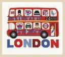 【DMC】 クロスステッチ 刺繍キット BK1648 London Bus ロンドンバス 【あす楽】【HLS_DU】