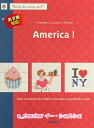 洋書【MANGO】クロスステッチ図案集 34 America! 15249-1 【あす楽】【HLS_DU】