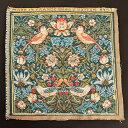 【ART de LYS】 William Morris 8457 Strawberry Thief (いちご泥棒) フランス製ゴブラン織りパネル生地 (約36×36cm) 【あす楽】【HLS_DU】