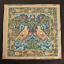 【ART de LYS】 William Morris 8868 Brother Bird フランス製ゴブラン織りパネル生地 (約36×36cm) 【あす楽】【HLS_DU】