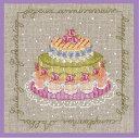 【ル ボヌール デ ダム】 刺繍キット 2266 Gâteaux anniversaire バースデーケーキ  【あす楽】【HLS_DU】