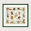 【ボヌール・デ・ダム】 刺繍キット 1193 Les champignons きのこ 【送料無料】
