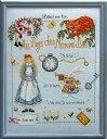 【マダム・ラ・フェ】 刺繍キット 28 Au Pays des Merveilles 不思議の国のアリス 【送料無料】【あす楽】【HLS_DU】