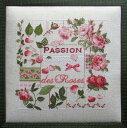 【マダム・ラ・フェ】 刺繍キット 85 Passion des Roses 薔薇の情熱 【送料無料】【あす楽】【HLS_DU】