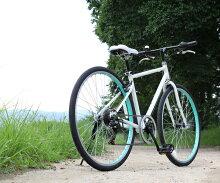 自転車26インチクロスバイクスポーツアウトドア送料無料TOPONE(トップワン)26インチクロスバイクシマノ6段変速ギアカギ・LEDライト付MCR266-29人気おすすめメンズレディース街乗りおしゃれ自転車【RCP】