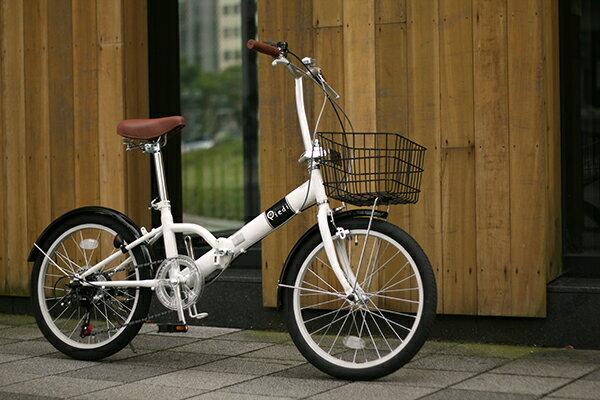 自転車 20インチ カゴ付 最軽量 ...