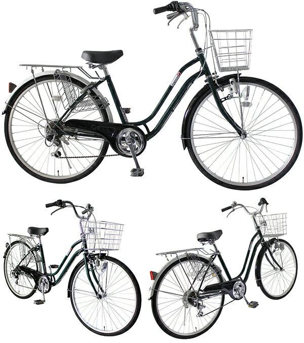 自転車26インチ軽快車 ...