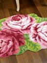 当店人気商品の薔薇のルームマットシリーズ幅80cmサイズです!
