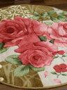 当店人気商品の薔薇のルームマットシリーズφ80cmサイズです!