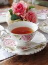 「ローズ・オブ・ローゼス」薔薇ティーカップ&ソーサー薔薇のスプーン付き♪即納致し
