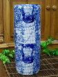 景徳鎮ワールド古地図傘立てブルー/円柱タイプ在庫処分品です★