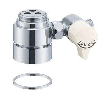B98-AU1 三栄水栓 シングル混合栓用分岐アダプター SANEI