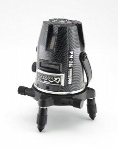 墨出し器PM-3K-Wフルセット山真製鋸(本体+受光器+三脚セット)刀カーボンカラーリングモデル