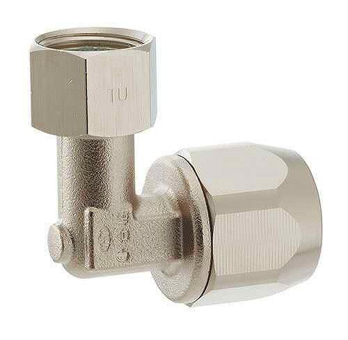 440-008-13カクダイ強化ガスホース用ユニオンエルボ(都市ガス用)