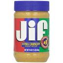 JIF ジフ ピーナッツバター選べる2本セット 各454g クリーミー/エキストラクランチ スマッカーズ SMUCKERS《》
