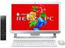 ★TOSHIBA REGZA PC 21.5型 フルHD液晶オールインワン WINDOWS 8.1 /OFFICE 2013 PD71/T2MSVW 【デスクトップパソコン…
