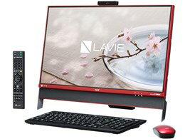 ◎◆ NEC LAVIE Desk All-in-one DA370/DAR PC-DA370DAR [クランベリーレッド] 【デスクトップパソ...