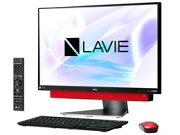 ◎◆ NEC LAVIE Desk All-in-one DA770/KAR PC-DA770KAR [メタルレッド] 【デスクトップパソコン】