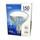 オーム レフランプタイプ LED電球 E26/16W 昼光色LDR16D-H 9