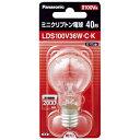 パナソニック ミニクリプトン電球40形 LDS100V36WCK