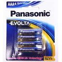 パナソニック EVOLTA 乾電池 単4 アルカリ 4本セット 海外パッケージ