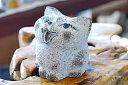 猫(ねこ)の石のインテリア 猫(ねこ)の石の彫刻品