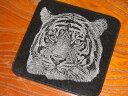 虎のマウスパッド!デザインストーンマウスパッド作品名「虎(-3)」