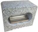 墓石用角型香炉G603【送料無料】サイズ約幅30.5×奥行15.5×高さ24.5cmお墓のリフォーム!【空気穴加工】