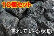 黒色の溶岩ブラックカル 50mm〜100mm10個セット!水槽のレイアウトに!底床用溶岩玉石黒色の軽い玉石です【もう1個サービス中!】
