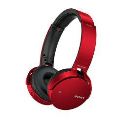 SONY(ソニー) MDR-XB650BT R(レッド)【送料無料】Bluetooth対応EXTRA BASSシリーズヘッドホン(ヘッドフォン)