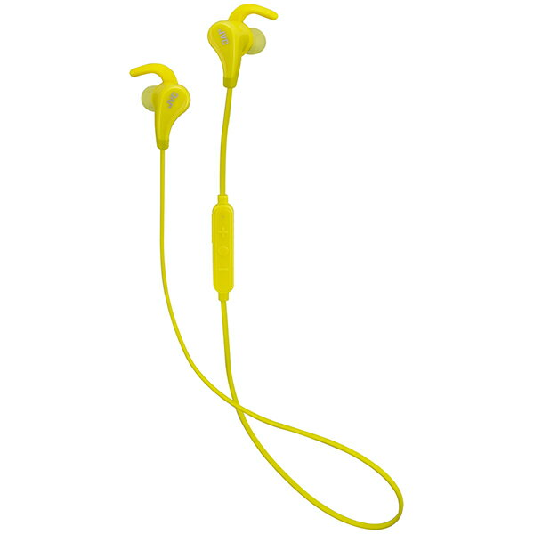 JVC ビクター HA-ET800BT-Y イエロー Bluetooth ブルートゥース イヤホン IPX5 防水 両耳 ワイヤレス イヤホン イヤフォン 【1年保証】 【送料無料】