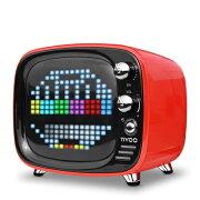 【ポイント10倍】 ワイヤレス スピーカー Bluetooth スピーカー DIVOOM Tivoo RED 【DIV-TIVOO-RD】【送料無料】 かわいい スピーカー