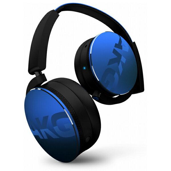 Bluetoothワイヤレスヘッドホン AKG Y50BT ブルー【AKGヘッドホン】【送料無料】
