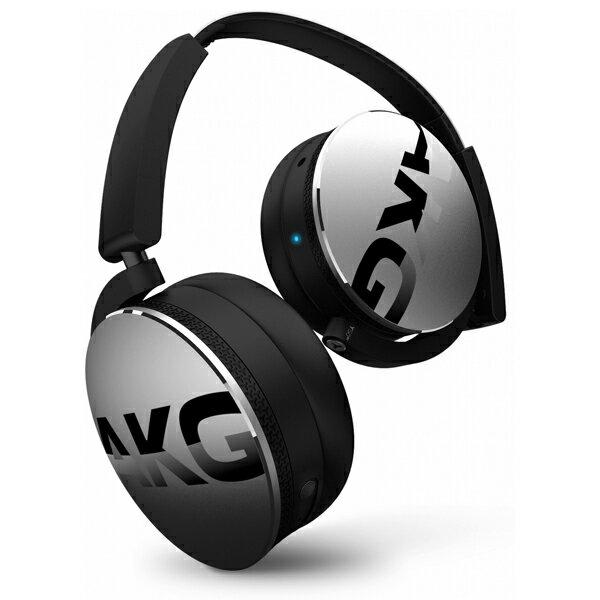 Bluetoothワイヤレスヘッドホン AKG Y50BT シルバー【AKGヘッドホン】【送料無料】