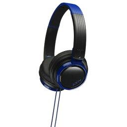 ヘッドホン(ヘッドフォン)JVCケンウッド HA-S200-BA(ブラック&ブルー)