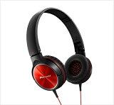 【】Pioneer(パイオニア) SE-MJ522-R(レッド)密閉ダイナミック型ヘッドホン(ヘッドフォン)