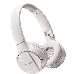Pioneer(パイオニア) SE-MJ553BT-W (ホワイト)【送料無料】Bluetoothワイヤレスヘッドホン(ヘッドフォン)