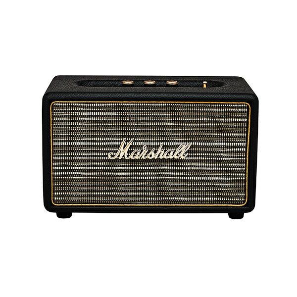 【ポイント10倍】 Bluetooth ワイヤレス スピーカー Marshall マーシャル ACTON Bluetooth Black ブラック 【送料無料】 【1年保証】