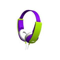 JVCTINYPHONES(HA-KS1-V)バイオレット【送料無料】キッズヘッドホン(ヘッドフォン)子供向け/キッズ用