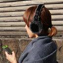 ワイヤレス!イヤマフ ヘッドホン MEBT-12BK(ブラック)【送料無料】ミュージックイヤーマフ/Bluetooth/ブルートゥース/ヘッドフォン/耳あて/イヤーウォーマー/レディース