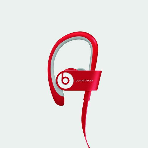 Beats by Dr.Dre(ビーツ) Powerbeats2 ワイヤレスヘッドフォン - レッド Bluetooth ワイヤレス イヤホン【国内正規品】MONSTERからbeatsブランドへ