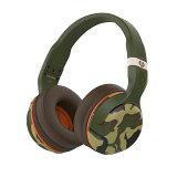 Skullcandy(スカルキャンディー) HESH 2 OVER-EAR WIRELESS CAMO/OLIVE/OLIVE【S6HBGY-367】スカルキャンディのBluetoothワイヤレスヘッドホン(ヘッドフォン)【送料無料】