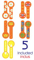 【新色】【折り畳み可!】onanoffTravelbuddyphoneオレンジ(BP-FD-ORANGE)キッズヘッドホン